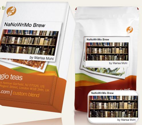 NaNoWriMo Brew Tea