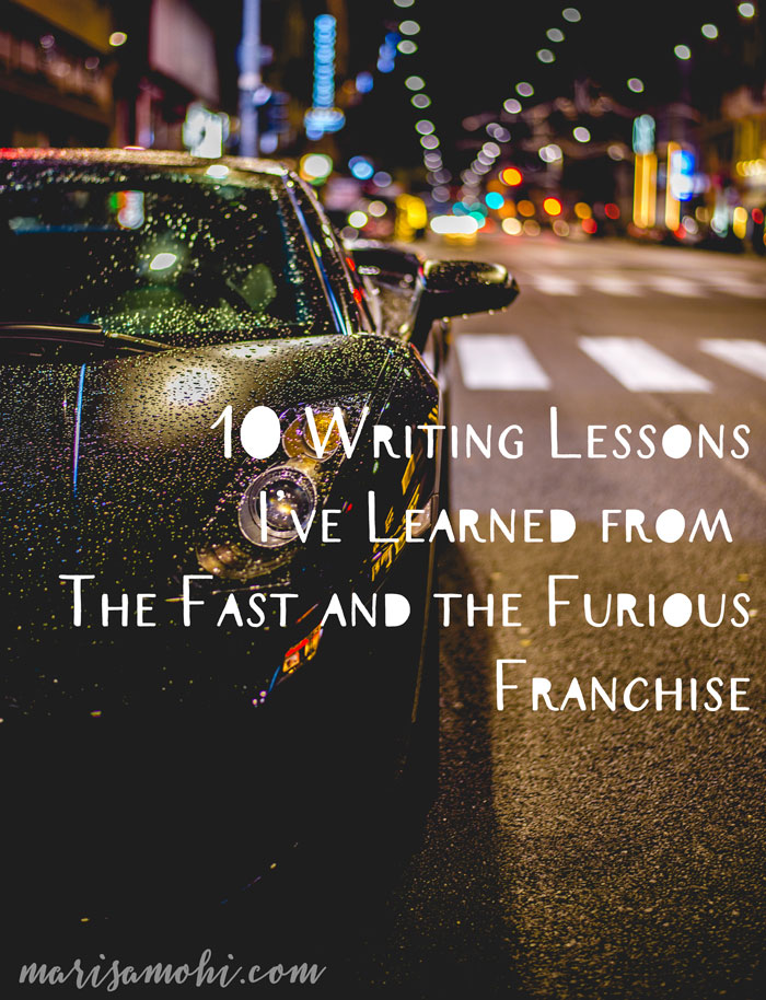 The Fast and the Furious: 10 Writing - 178.8KB